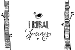 Tribal spring collection