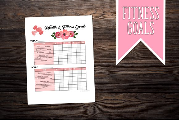Health And Fitness Goal Tracker