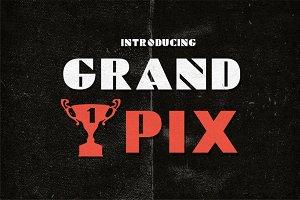 Grand Pix Font