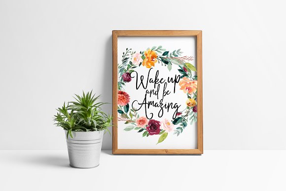 Wake Up And Be Amazing Printable