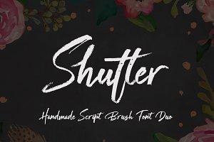 Shutter Font Duo