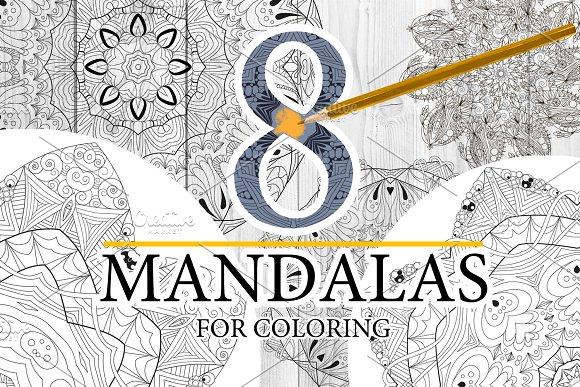 Unusual Mandalas For Coloring 5