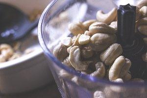 Soaked Cashews in Blender
