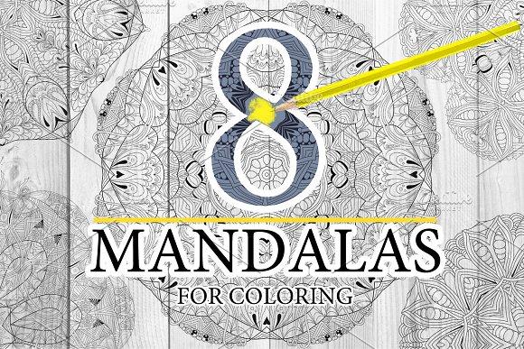 Unusual Mandalas For Coloring 6