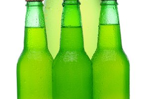 Assorted Lemon Lime Soda Bottles
