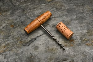 Cork Screw and Cork