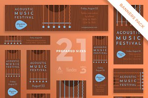 Banners Pack   Music Festival