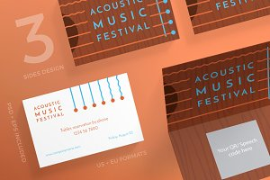 Business Cards | Music Festival