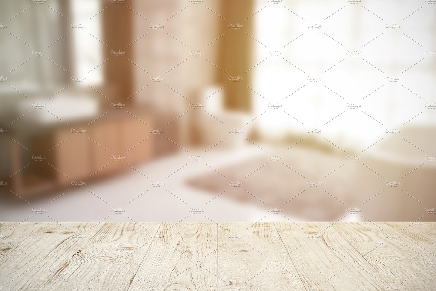 Tabletop And Bathroom Background Abstract Photos Creative Market
