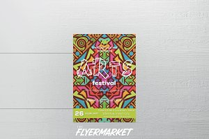 Arts Festival Flyer Template