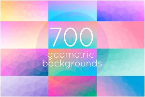 700 geometric triangle backgrounds