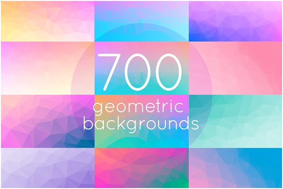 700 geometric triangle backgrounds