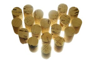 corks wine decorating