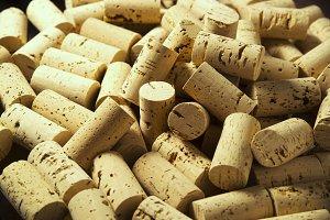corks wine decorating
