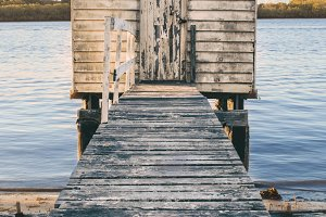 Maroochy River Boat House during the
