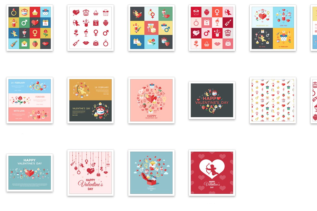 Vector bundle 16 saint valentine ico