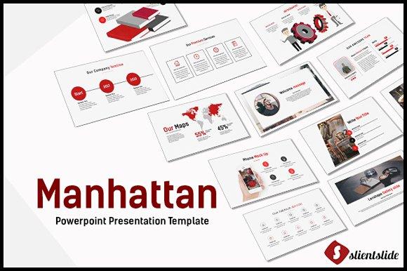 Manhattan Powerpoint Template