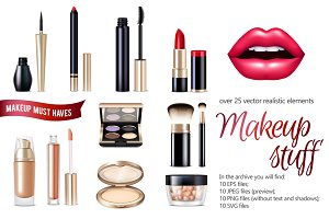 Realistic MakeUp Items