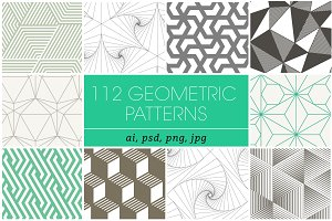 Geometric Patterns Bundle 1