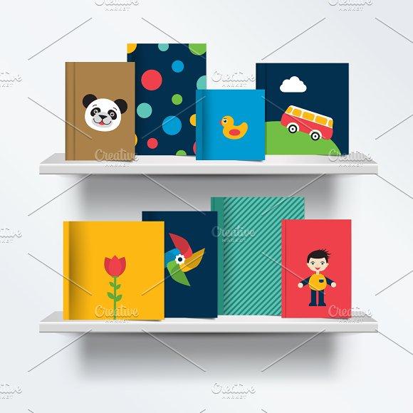 Children, kids Bookshelf.