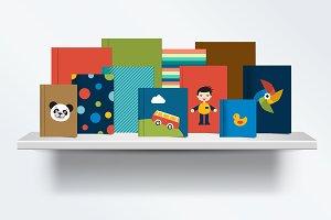 Children, kids Bookshelf