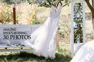 30 photos of bride's morning