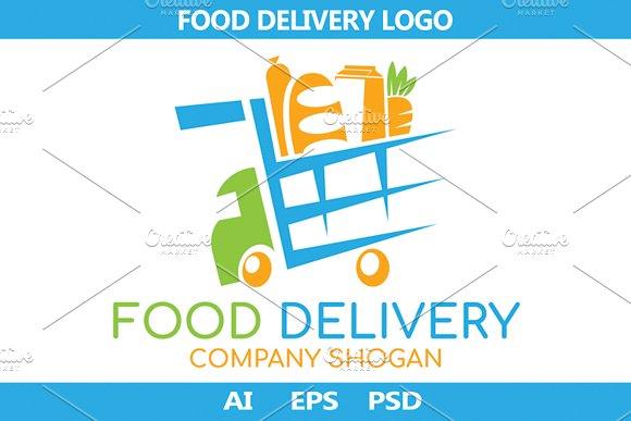 Food Delivery logo. Vector.