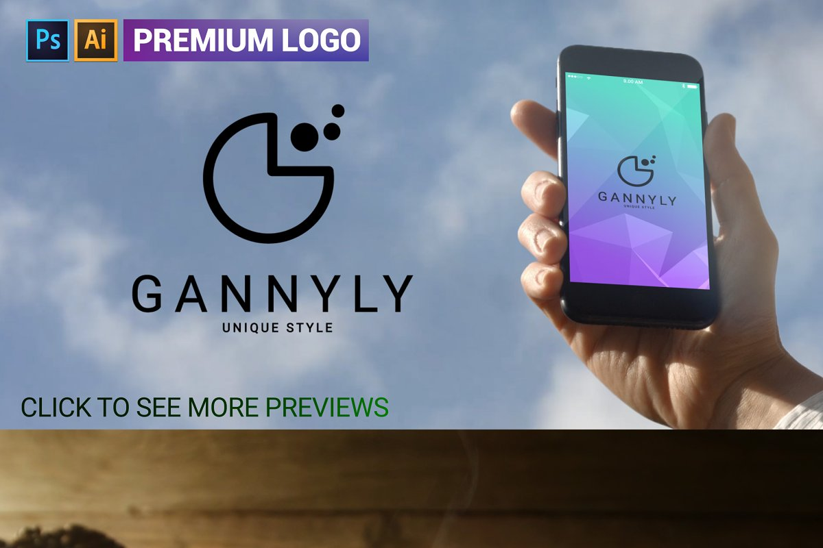 G Letter Logo in Logo Templates - product preview 8