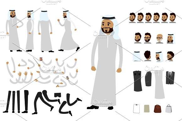 Arab human constructor