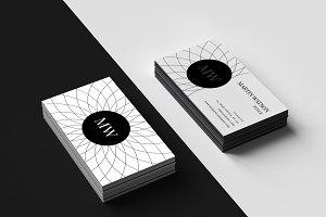 New art design business card