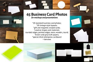 65 Business Card Photos