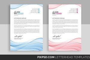 Line Business Letterhead Template