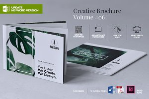 Creative Brochure Template Vol. 06