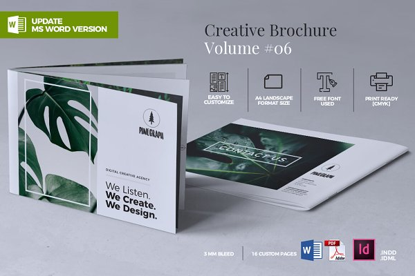 Brochure Templates Creative Market - Template brochure