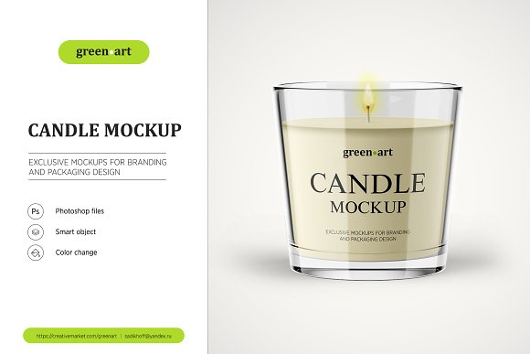 Download Candle Mockup