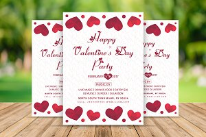 Valentines Party Flyer / Invitation