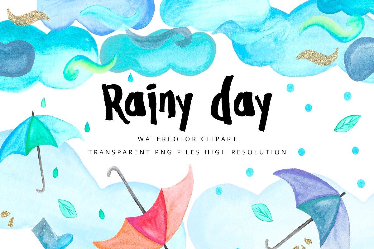 Clipart Rain