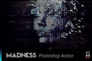 MADNESS Sci-Fi Photoshop Action