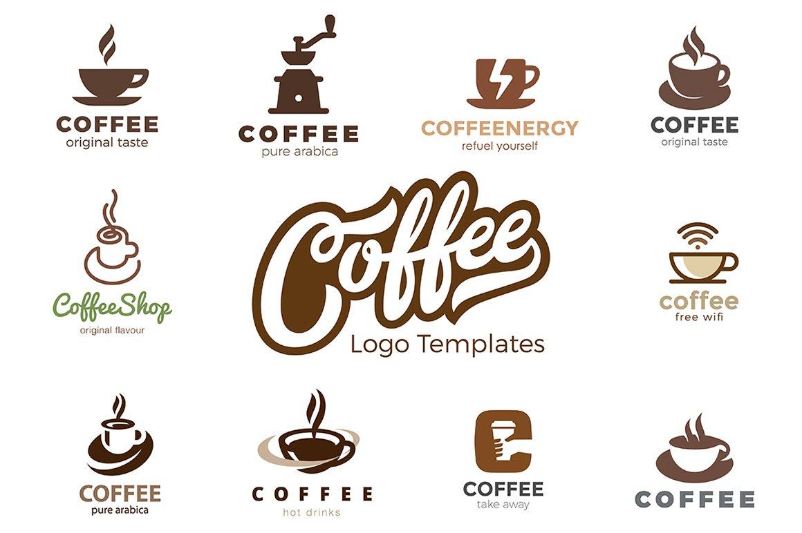 Coffee Logo Templates Logo Templates Creative Market