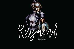 Raymond   Branding Font