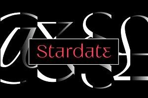 Stardate Typeface