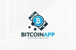 Bitcoin App Logo Template