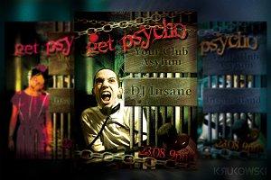 Get Psycho Flyer / Poster
