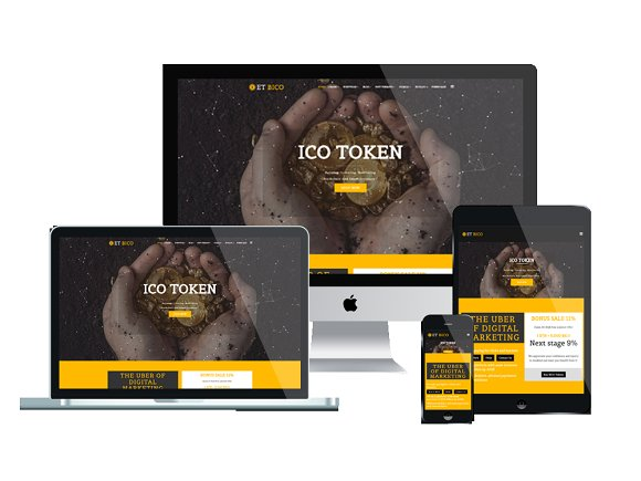 ET Bico Cryptocurrency Website