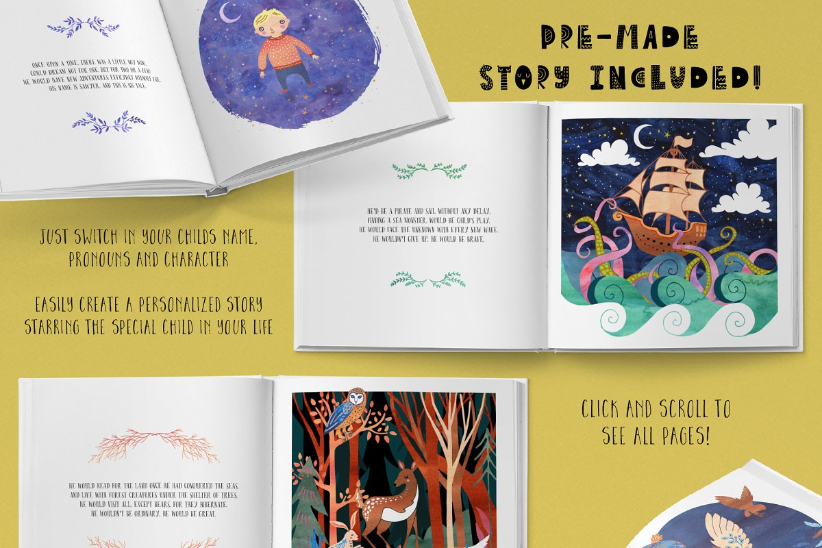 The Children's Book Collection in Illustrations - product preview 1