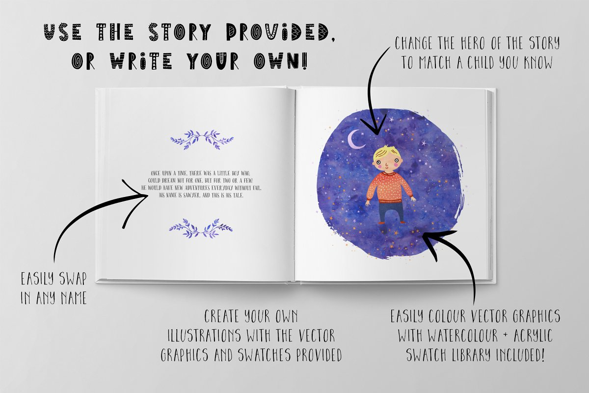 The Children's Book Collection in Illustrations - product preview 2