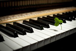 Clover and piano