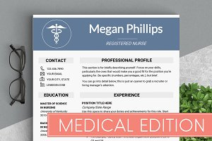 Medical Resume Template //