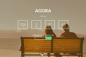 Agora - Coming Soon Template