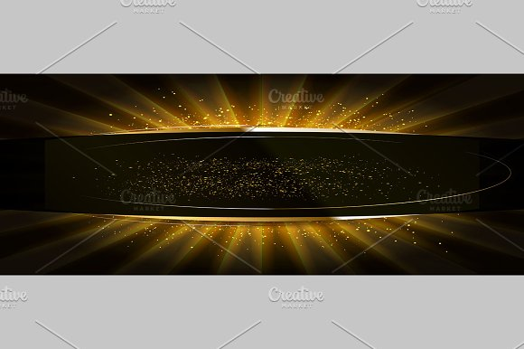 Golden glitter on a flat surface in Graphics - product preview 3